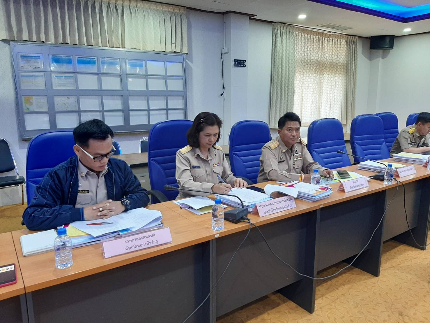 ร่วมประชุมคณะกรรมการพิจารณาคัดเลือกข้าราชการพลเรือนดีเด่น ประจำปี พ.ศ. 2562 จังหวัดหนองบัวลำภู ณ ห้องประชุมปฏิบัติการ POC ชั้น 4